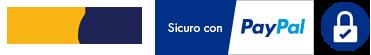 Corriere GLS - Pagamenti sicuri su server PayPal e Stripe